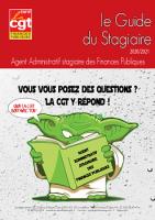 Guide du Stagaire (Agent) 2019-2020